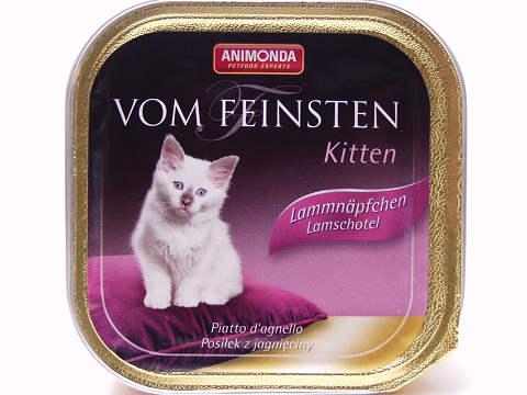 フォムファインステン・仔猫・鶏肉と子羊肉