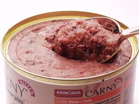 カーニー・仔猫・子牛肉と鶏肉